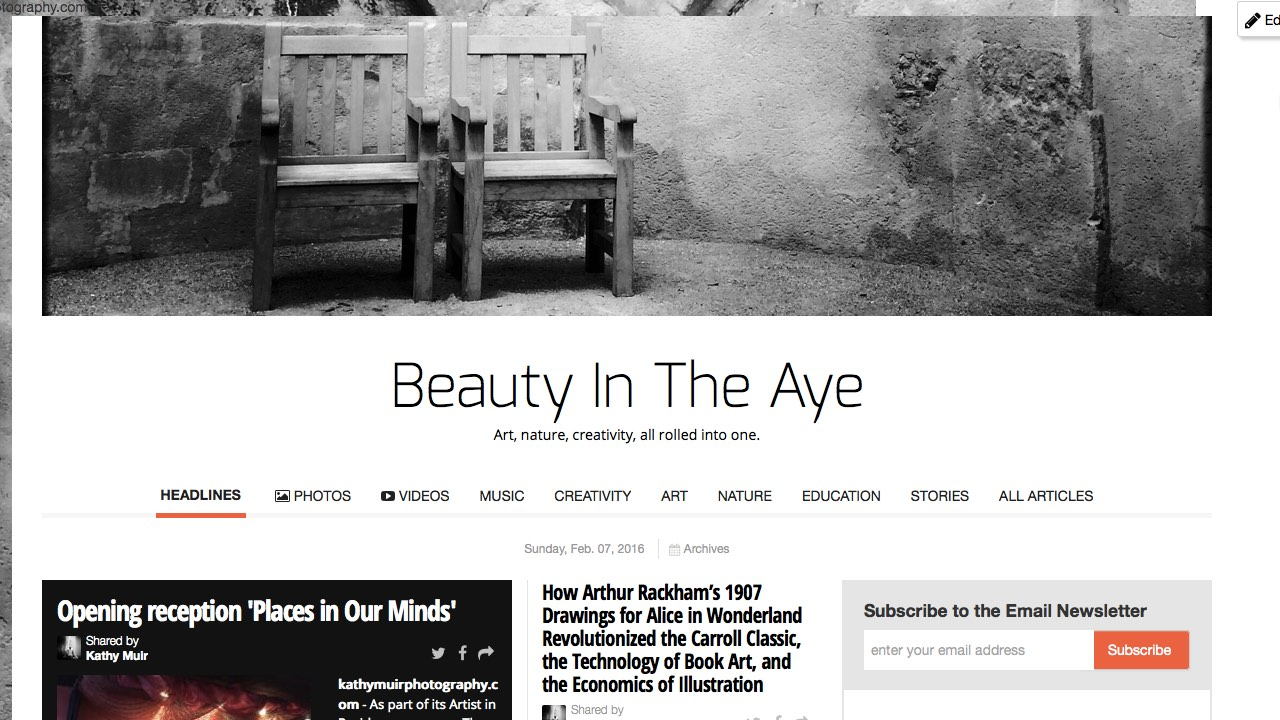 Beauty In The Aye 2x monthly newspaper