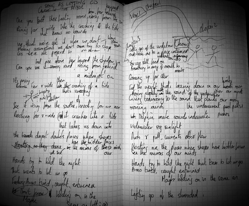 BBCTaboo inspired lyrics for Same As Letting Go