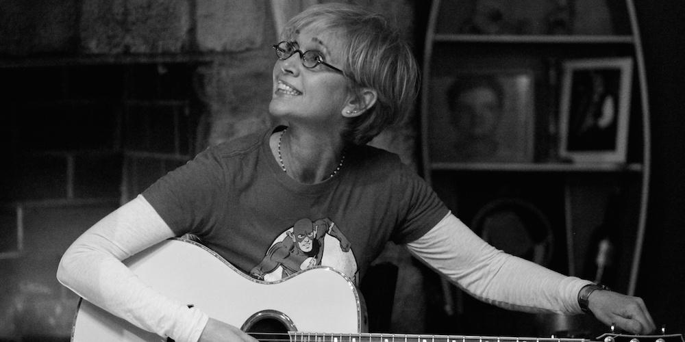 Scottish singer-songwriter Kathy Muir