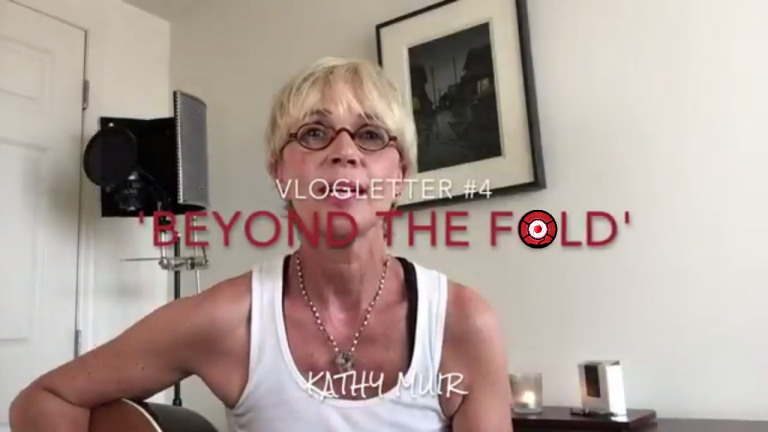 Introducing Beyonf the Fold Newsletter by Scottish singer songwriter Kathy Muir