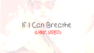 This is the cover art for If I Can Breathe - Acoustic version